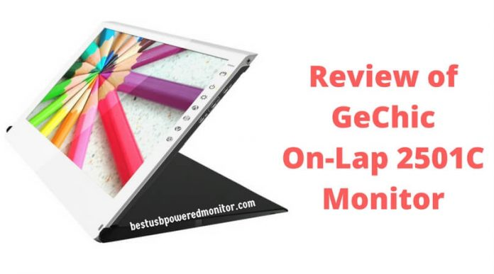 Review of GeChic On-Lap 2501C Portable Monitor