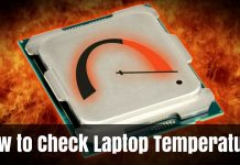 How to Check Laptop Temperature Windows 10