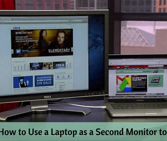 How to Use a Laptop as a Second Monitor to Your PC
