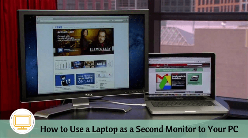 How to Use a Laptop as a Second Monitor to Your PC? | An Easy Way