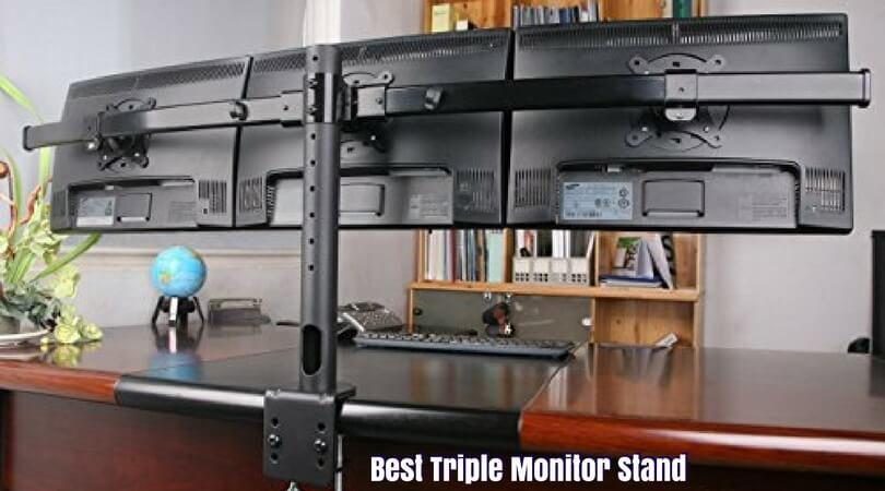 Triple Monitor Desk Stand 27 Hostgarcia