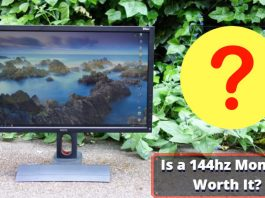 Is a 144hz Monitor Worth It