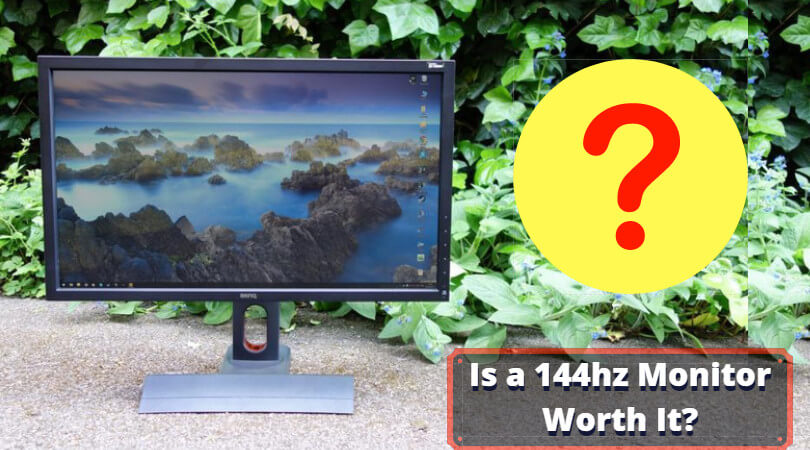 how to put the monitor in 144hz