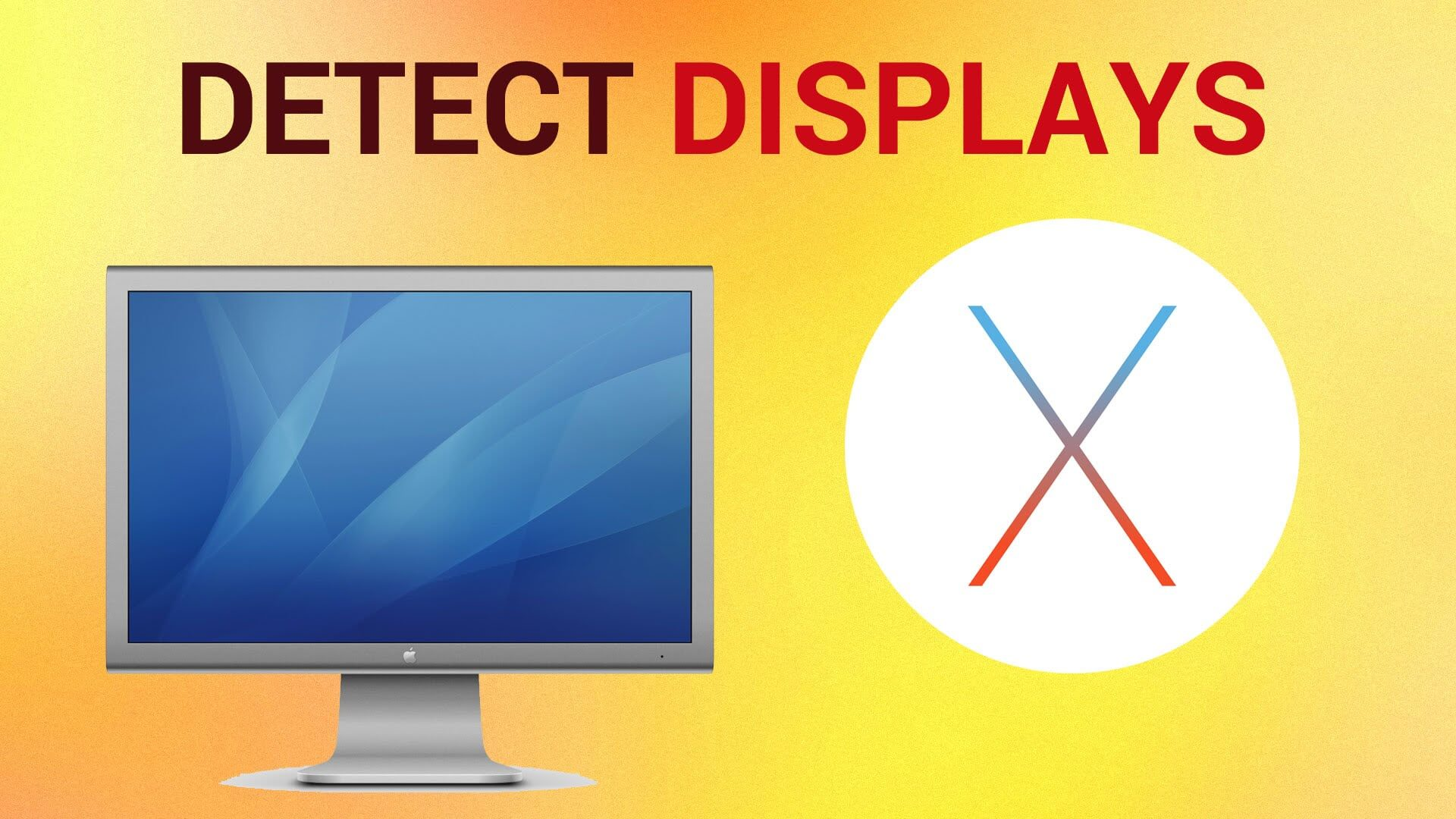 Detect Display