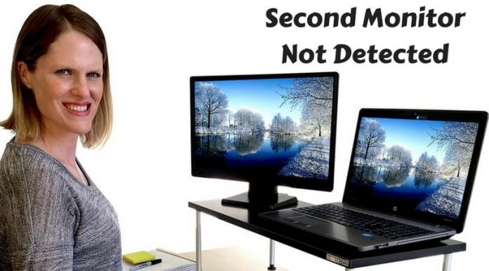 second monitor not detected