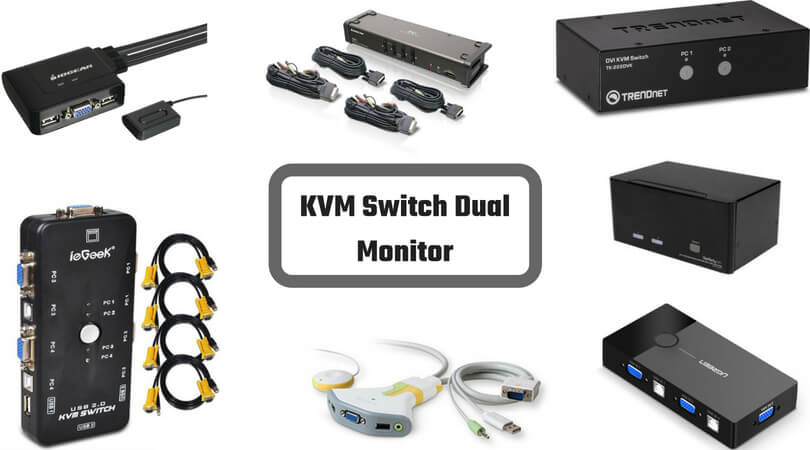 Best KVM Switches for Dual Monitors and Server Rack | Top