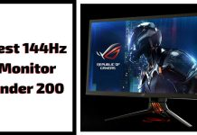 Best 144Hz Monitor Under 200