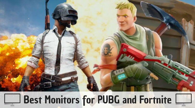Best Monitors for PUBG and Fortnite: Play Games without Lag