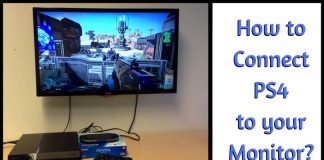 How to Connect PS4 to your Monitor