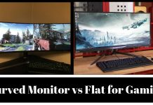 Curved monitor vs flat for gaming