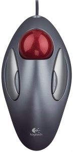 Logitech Trackman Marble Mouse for Music Production