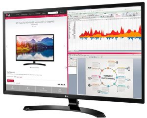 LG 32MA70HY-P 32-Inch IPS Monitor for Movies