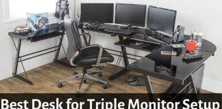 Best Desk for Triple Monitor Setup