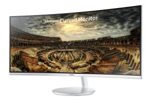 "Samsung CF791 Series 34"" Curved Monitor"