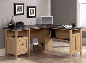 Sauder 412320 August Hill L-Shaped Desk