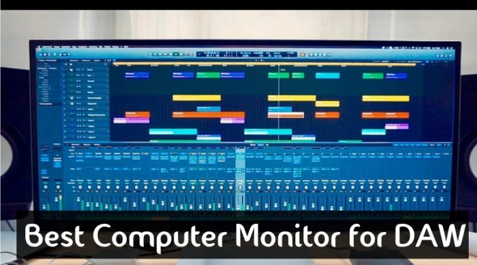 Best Computer Monitor For DAW