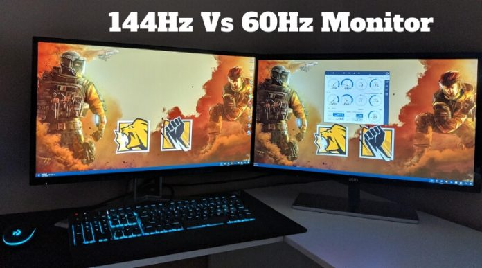 144Hz Vs. 60Hz Monitor