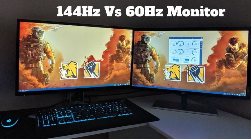 144Hz Monitor vs 60Hz - Find The Difference of Two Refresh Rates