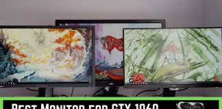 Best Monitor for GTX 1060