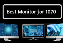 Best Monitor for 1070