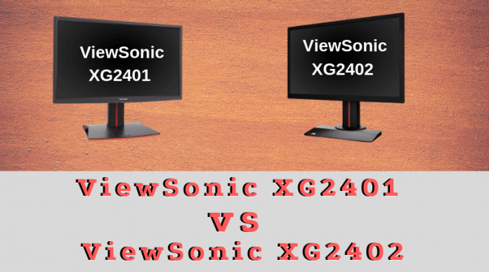 ViewSonic XG2401 vs XG2402