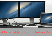Best External Monitor for Surface Pro 4