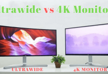 Ultrawide vs 4K Monitors