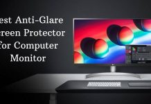 Best anti-glare screen protector for computer monitor