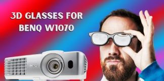 3D Glasses for Benq W1070